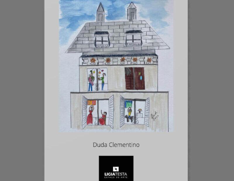 catálogo Duda Clementino - Ligia Testa Espaço de Arte