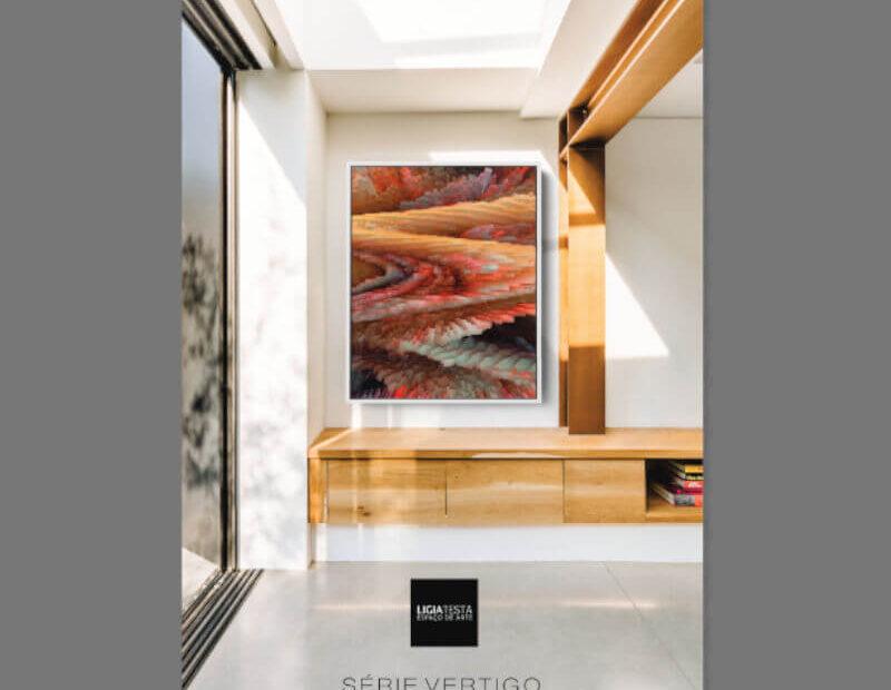 Catálogo Série Vértigo Annike Limborço - Ligia Testa Espaço de Arte